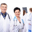 Professional group of doctors — Stock Photo