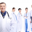 Team of medical doctors — Stock Photo
