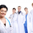 Successful team of doctors — Stock Photo #1462750