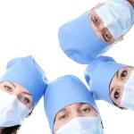 Four surgeon — Stock Photo