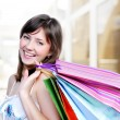 Attractive shopper — Stock Photo