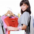 Woman shopping — Stock Photo #1463407