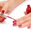 Nail salon. — Stock Photo