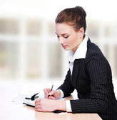 Active businesswoman — Stock Photo