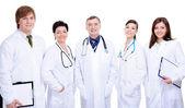 Happy successful doctors — Stock Photo