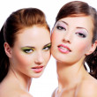 Two sexy young women — Stock Photo #1476860