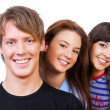 Group portrait of attractive — Stock Photo #1477914