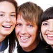 Friendship - Young students — Stock Photo