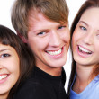Three beautiful teenagers — Stock Photo #1478070