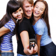 Stockfoto: Teenagers playing