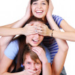 Joyful teenager group — Stock Photo #1478126