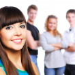 Beautiful teen gir — Stock Photo #1478639