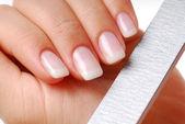 Nails - beauty spa. — Stock Photo
