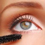 Brush for eyelashs — Stock Photo