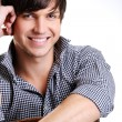 Attractive guy with toothy smily — Stock Photo