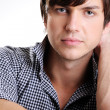 Handsome confident young man — Stock Photo