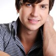 Cute confident young guy smile — Stock Photo #1485935