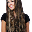 Style dreadlocks — Stock Photo