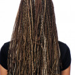 Hairstyle dreadlocks — Stock Photo #1486025