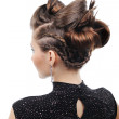 Styling hairstyle — Stock Photo