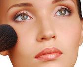 Szczotki kosmetyczne — Zdjęcie stockowe