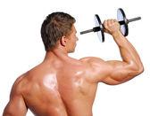 Sport exercising — Stock Photo