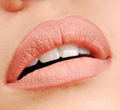 Natural color of lipstick — Stock Photo
