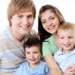Portrait of happy family — Stock Photo #1503088