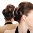 Beauty hairstyle — Stock Photo
