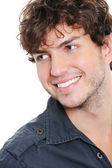 Pretty guy with toothy smile — Stock Photo