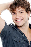 Sexy man with toothy smile — Stock Photo