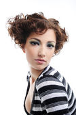 Beauty curly hairstyle — Stock Photo
