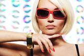Ragazza glamour — Foto Stock