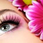 roze Beauty make-up — Stockfoto