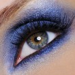 Blue make-up — Stock Photo
