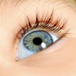 Blue eye — Stock Photo