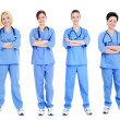 Female doctors — Stock Photo