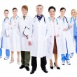 Group of successful doctors — Stock Photo
