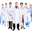 Stock Photo: Group of successful doctors