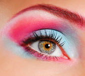 Beautiful eye make-up — Stock Photo
