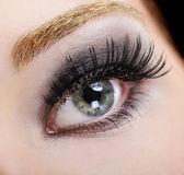 Beauty false eyelashes — Stock Photo
