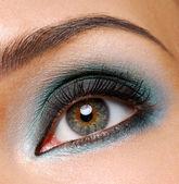 Fashion ceremonial makeup — Stock Photo