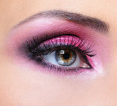 Fashion make-up of eye — Stock Photo