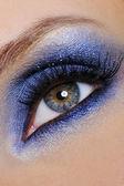 Blue make-up — Stock Photo