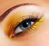 Ceremonial yellow style — Stock Photo