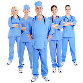 Group of successful surgeons — Stock Photo