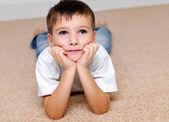 Il ragazzo della scuola dell'infanzia — Foto Stock