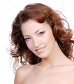 Beatiful woman face — Stock Photo