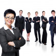 Successful business team — Stock Photo #1520089