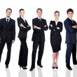 Group of successful business - Stock Photo